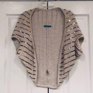 Alice + Olivia Sequined sweater vest